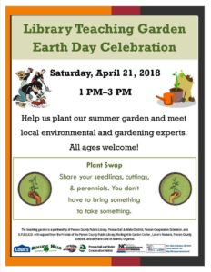 Cover photo for Library Garden Earth Day Celebration