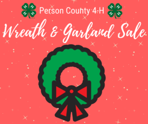 Cover photo for Person County 4-H Wreath & Garland Sale
