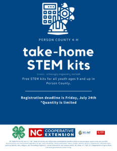 Cover photo for Take-Home STEM Kits