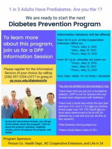Cover photo for Diabetes Prevention Program