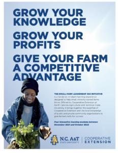 Cover photo for Small Farm Leadership 360 Initiative